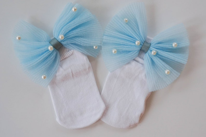 25d6e7485 3 Colors Toddler Bow Socks Personalized Knee High Socks
