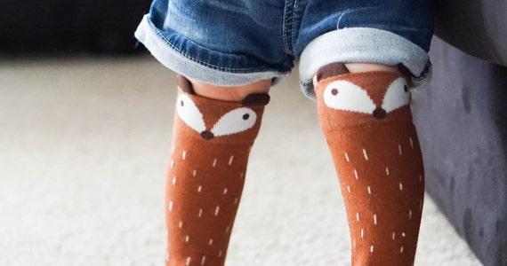 Baby fox socks