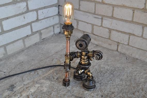 Steampunk chandelier   Etsy