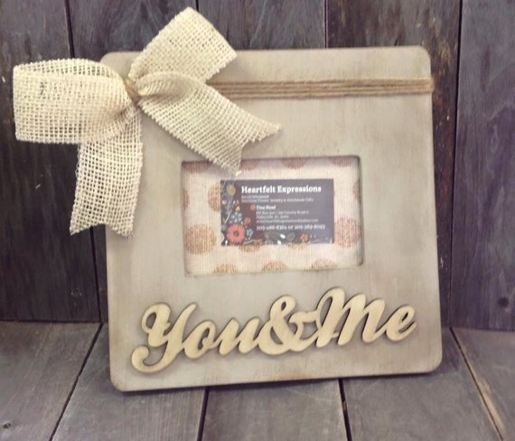 Picture Frame 4x6 You Me Etsy