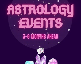 Astrology Events Reading  | Transits | Aspects Natal Chart Analysis | Birth Chart |  Interpretation | Astrology | Love Report | Karma Report