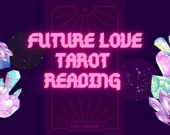 Future Partner love tarot | Romance Tarot Card Reading | True love Tarot |  | Fast shipping | gifts | boyfriend
