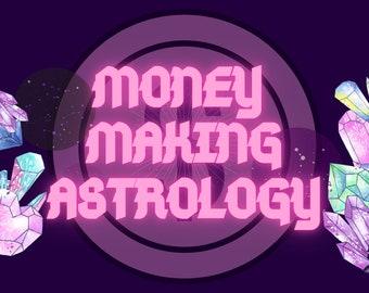 Money Making Astrology | Transits | Aspects Natal Chart Analysis | Birth Chart |  Interpretation | Astrology | Love Report | Karma Report