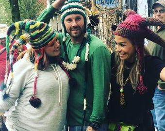 Natural Wool Crazy Hats