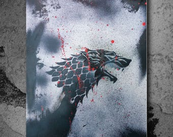 Custom House Stark Spray Painting!