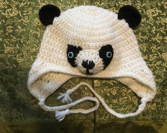 bbed754e5f8 Crocheted Animal Character Hats