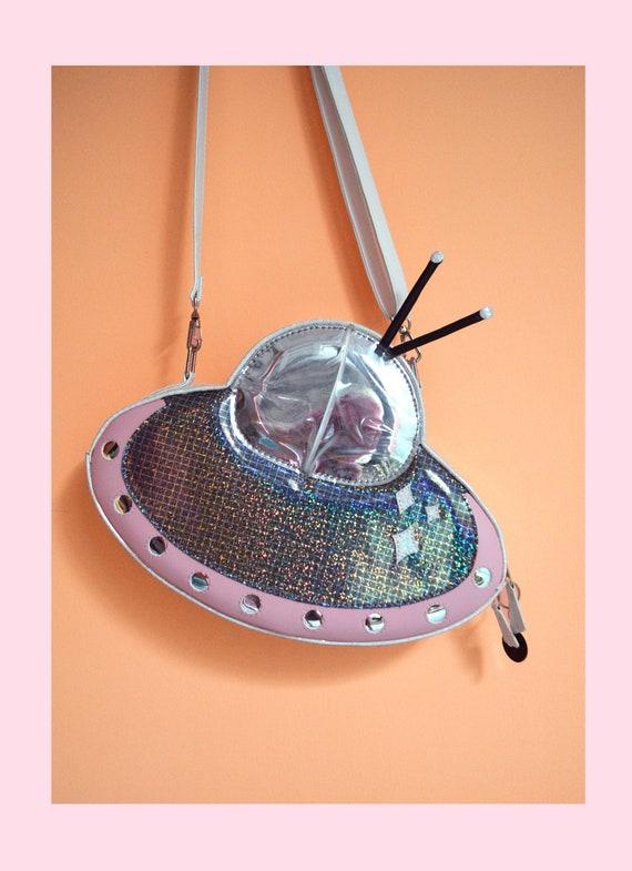 UFO / OVNI / vaisseau spatial crossbody bag