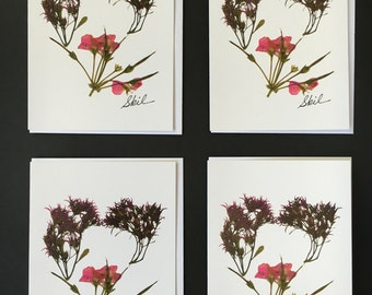 "One - ""Heart"" Card Print (5X7)"