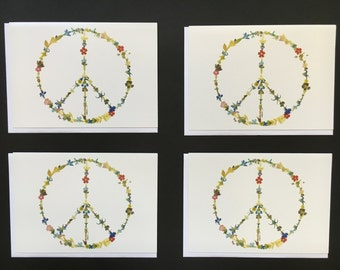 "One - ""Peace Sign"" Card Print (5X7)"