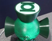 Green Lantern Hal Jordan Inspired Power Battery for Cosplay - 3D STL Files