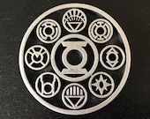 Green Lantern - Lantern Corps Disc - 3D Printed Kit
