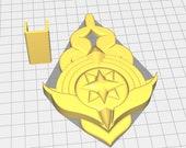 Fire Emblem: Three Houses -  Byleth Belt Buckle/Badge- STL Files for 3D Printing