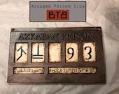 Azkaban Prison Sign - Sirius Black/Bellatrix Lestrange