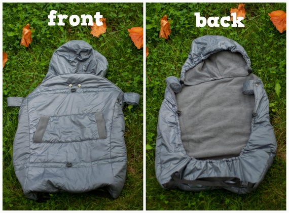 fad6340b2b9 Winter baby cover Baby wearing Hooded Cover Winter Coat