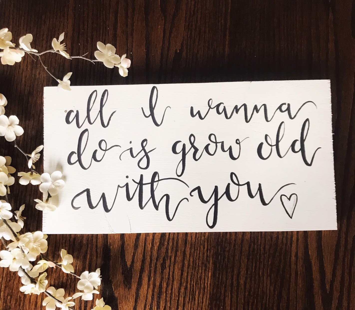Wedding Singer Song.Grow Old With You Wood Sign Wedding Singer Songs Song Lyrics The Wedding Singer Gift Anniversary Wedding