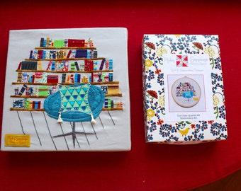Embroidery Kit - Chair Quartet #4
