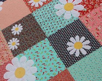 Daisy...Daisy Quilt Pattern (Digital)