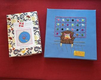 Embroidery Kit - Chair Quartet #1
