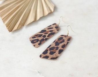 Leopard leather  | large