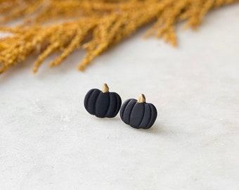 Pumpkin Studs   Noir