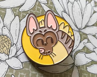 Aardwolf Enamel Pin