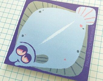 Friendly Flounder Memo Pad [Last Chance]