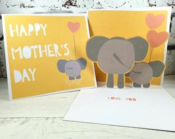 Mama Blue Mum Personalised 1st First Mothers Day Card My Beautiful Mummy