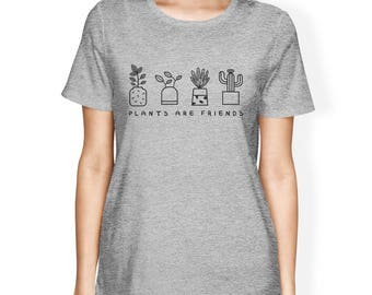 Plants Are Friends Women's T-Shirt [JCT268]
