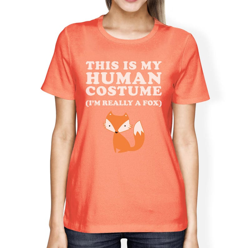 1a07a59a1f5 HALLOWEEN This Is My Human Costume Fox Cute Funny Stylish | Etsy