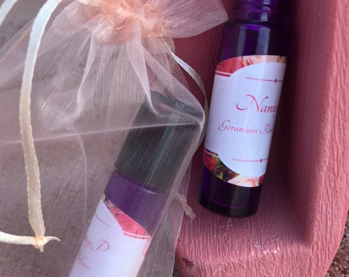 Rose Perfume Or Holiday Rose Basket With Perfume, Face Mist & Inhaler - CERTIFIED AROMATHERAPIST