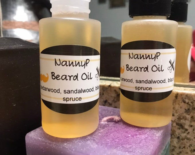 Organic Beard Oil - Certified Aromatherapist