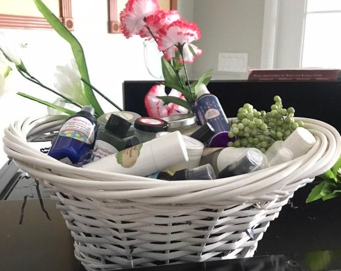 Aromatherapy Gift Basket - CERTIFIED AROMATHERAPIST