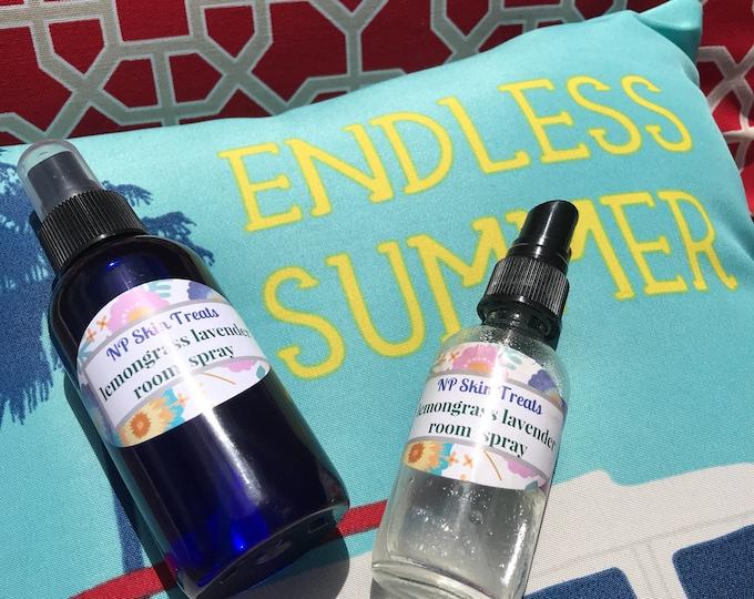 Lemongrass Room Spray - CERTIFIED AROMATHERAPIST