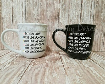 Friends TV show coffee mug - Perfect gift for the Friends fanatic in your life (or you)!!