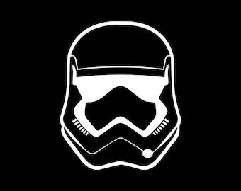 Sticker voiture Starwars StormTrooper 3,5 pouces vinyle autocollant