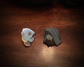 Folk Horror Pin 2-pack