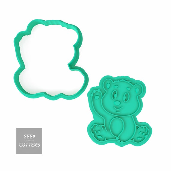 Umka Bear Cookie Stamp ANIMAL Cookies Umka Bear Cookie Cutter