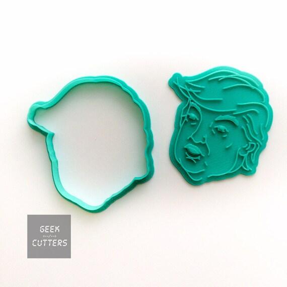 Donald Trump Cookie Cutter - *Dishwasher safe option* - 3D Printed