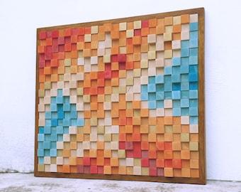 YELLOW-ORANGE Wall art
