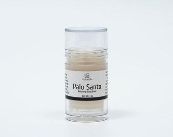 Palo Santo Balm, palo santo sticks leave moisturizers