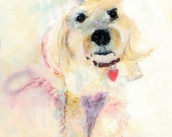 Commission, Pet Portrait, Custom Pet Painting, Alcohol Ink Painting, Watercolor Pet, Pet Commission, Dog Portrait, Dog Lover Gift