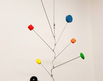Mobile, mid century, inspired by Calder