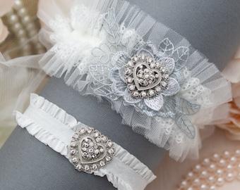 Prom Garter Grey Garter Set Garter Grey Toss Garter Lace Garter Wedding Garter Set Of Garter Grey Bridal Garter Grey Wedding Garter