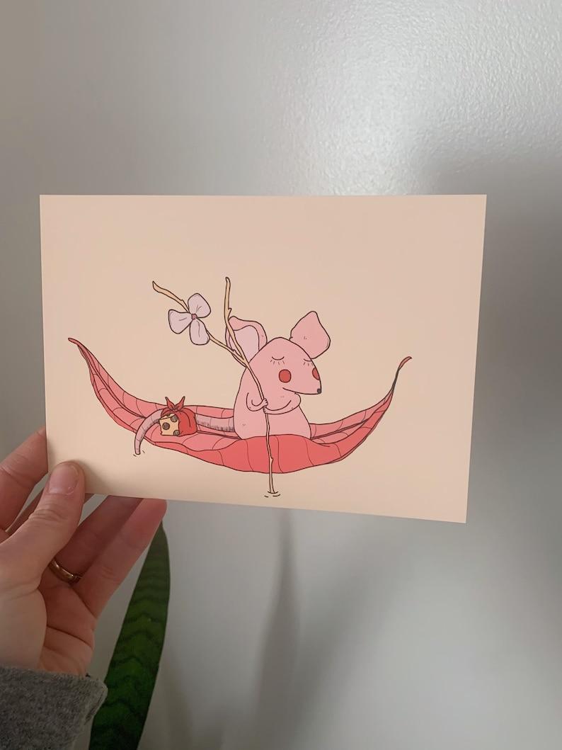 Mouse Traveler Print