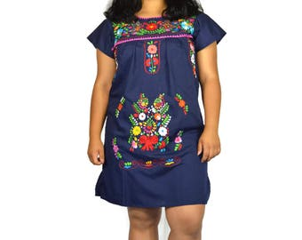33e68face4 Hand Embroidery mexican Dress