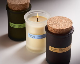 Tallow Candle Trio