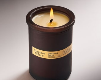 Souchong Debut (Black Tea and Vetiver) Tallow Candle