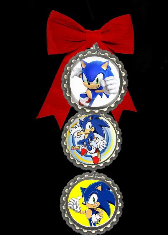 sonic the hedgehog christmas ornament christmas tree | Etsy