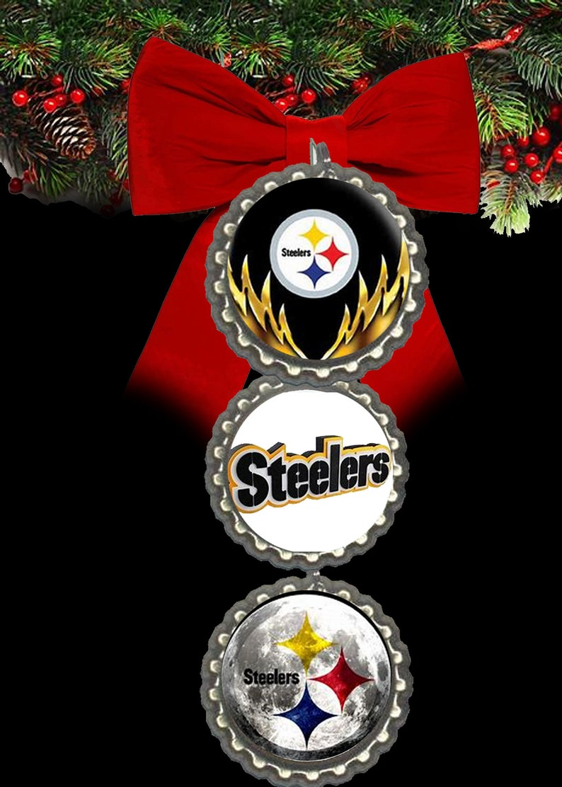 Pittsburgh Steelers Christmas Ornament Ornaments Christmas Etsy