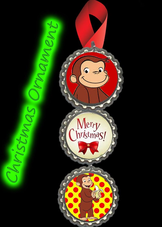 Curious George Christmas.Curious George Christmas Ornament Christmas Tree Decorations Decor Fast Free Shipping